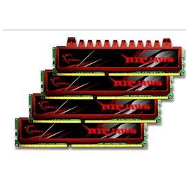 G.SKILL Ripjaws Series 16GB (4GBx4) DDR3 1333MHz CL9  Dual Channel Kit (F3-10666CL9Q-16GBRL)
