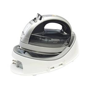 Panasonic NIWL600 Cordless 360 Degree Multi-Directional Steam / Dry Iron with Curved Titanium Soleplate - Grey (NIWL600)