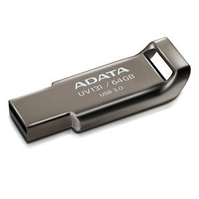 ADATA DashDrive UV131 64GB Magnesium Alloy Unibody USB 3.0 Flash Drive (AUV131-64G-RGY)
