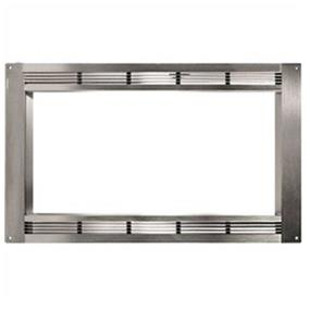 "Panasonic Microwave Trim Kits : 24"" Width - For NNCF781S Full Stainless Steel kit"