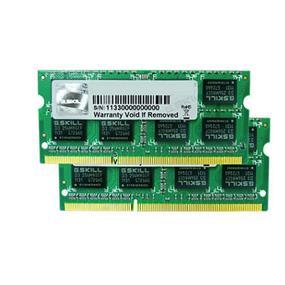 G.SKILL Standard  Series 8GB (4GBx2) DDR3 1600MHz CL11  SO-DIMM Memory (F3-12800CL11D-8GBSQ)