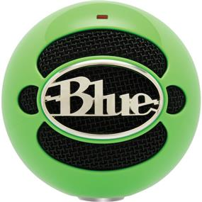 Blue Snowball - USB Condenser Microphone with Accessory Pack (Neon Green)