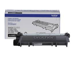 Brother TN660 High Yield Black Toner Cartridge - 2600 Page Yield