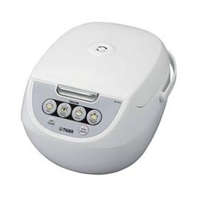 Tiger JBV-A10U 5.5 Cups 3-in-1 Microcomputer Controlled Rice Cooker / Steamer / Slow Cooker - White (JBV-A10U)