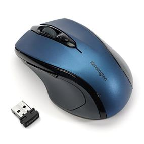 Kensington Mobile Pro Fit Mid-Size Wireless Mouse- Navy (72421)