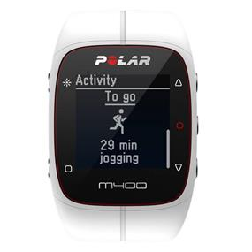 Polar M400 HR Activity Tracking Sport Watch with Bluetooth GPS and Heart Rate Sensor (White)