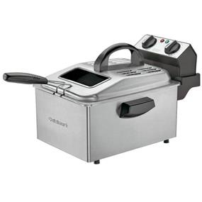 Cuisinart 1800 Watt 1.0 Gal Professional Deep Fryer - Stainless Steel Brush (CDF-250C)