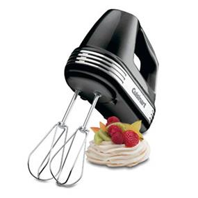 Cuisinart 220 Watt Power Advantage 7-Speed Hand Mixer - Black (HM-70BKC)