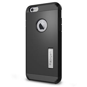 "Spigen Tough Armor case for iPhone 6/6s 5.5""- Smooth Black (SGP10914)"