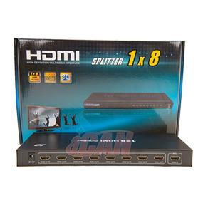 iCAN HDMI 1.4 3D Active Splitter w/Power, 1 Input, 8 Outputs  (DSW-IHD1IN8OUT)