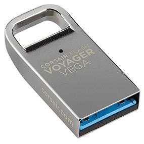 Corsair Flash Voyager Vega 64GB USB 3.0 Compact Flash Drive, Up to 200 MB/s Read, 40 MB/s Write (CMFVV3-64GB)