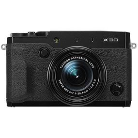 Fujifilm X30 - Digital Camera (Black)