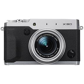 Fujifilm X30 - Digital Camera (Black/Silver / Open Box)