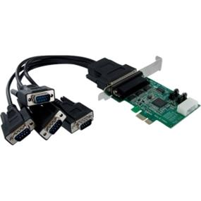 StarTech 4 Port Native PCI Express RS232 Serial Adapter Card with 16950 UART (PEX4S952)
