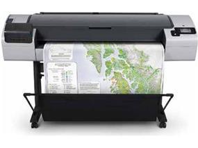 """HP Designjet T795 Inkjet Large Format Printer - 44"""" - Color Thermal Inkjet"""
