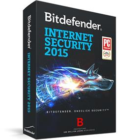 BitDefender Internet Security Bonus Edition 2015 (3pc/2yr) Bilingual