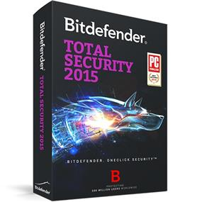 BitDefender Total Security Standard  2015 (1pc/1yr) Bilingual