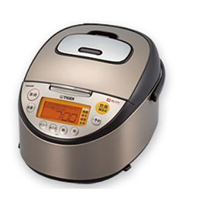 Tiger JKT-S10U 5.5 Cups Induction Heating Rice Cooker/Warmer/Slow Cooker - Black & Stainless Steel (JKT-S10U)