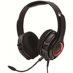 GamesterGear PC200 PC Wired Gaming Headset- Detachable Boom Microphone, and Hand-Washable Removable Ear-cup (OG-AUD63079)