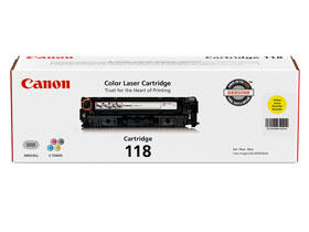 Canon 118 Yellow Toner Cartridge (2659B001)