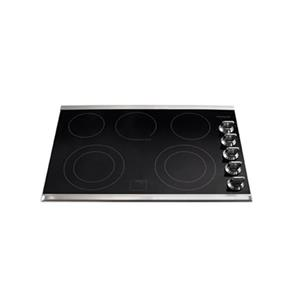 "Frigidaire Gallery 30"" Electric Cooktop with Black Ceramic Glass Cooking Surface - Stainless Steel (FGEC3067MS)"