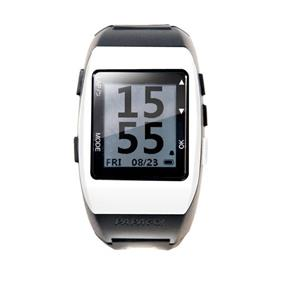 PAPAGO! GoWatch 770 Rechargeable GPS Watch for MuiltiSports - Black & White (GW770WH-US)
