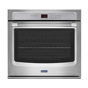 Maytag 30-Inch Single Built-In Oven with Precision Cooking System - Stainless Steel (MEW7530DS)