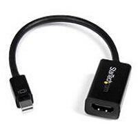 StarTech Mini DisplayPort to HDMI Audio/Video Converter (Black) (MDP2HD4KS)