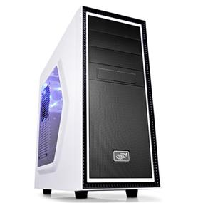 Deepcool Tesseract SW-WH White Window Mid Tower Case