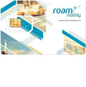 ROAM MOBILITY 4G LTE SIM CARD 3-in-1 (2 pack)