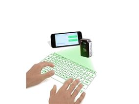 CTX VK200 KEYFOB VIRTUAL LASER KEYBOARD - Green (VK200-GRN)