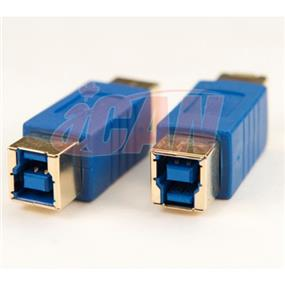 iCAN USB 3.0 SuperSpeed B Female to B Female Gold-plated adapter (ADP USB3BF-BF)