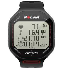 Polar RCX5 Heart Rate Monitor Watch - Black (90051067)