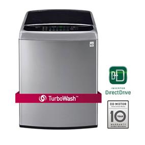LG 5.8 cu.ft. Mega Capacity High Efficiency Top Load Washer with TurboWash Technology - Graphite Steel (WT1701CV)