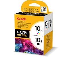 Kodak 10B/10C Combo Black Ink Cartridge