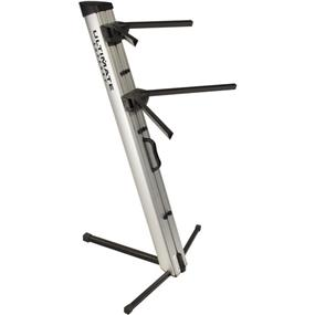 Ultimate Support APEX AX-48 Pro - Column Keyboard Stand (Silver)
