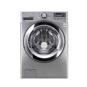 LG 5.0 cu.ft. 27 Inch Ultra Large Capacity Front Load Steam Washer with 6 Motion Technology - Graphite Steel (WM3370HVA)