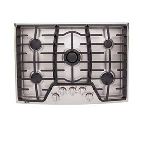 "LG 30"" Gas Cooktop with Professional Look of Stainless Steel - Stainless Steel (LCG3091ST)"