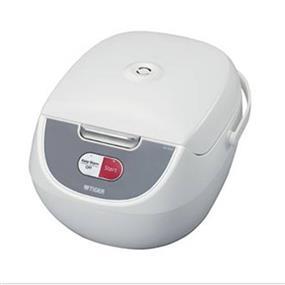 Tiger JBZ-A10U 5.5 Cups 2-in-1 Microcomputer Controlled Rice Cooker / Steamer - White (JBZ-A10U)