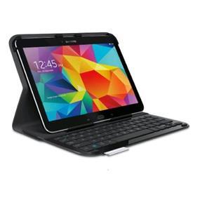Logitech Ultrathin Keyboard Folio for Samsung Galaxy Tab 4 10.1''-Carbon Black (920-006386)