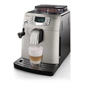 Saeco HD8752 Intelia Super-Automatic Fully Automated Coffee Espresso Machine - Stainless Steel (HD8752/87)