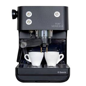 Saeco RI9366 Via Venezia Manual Coffee Espresso Machine - Black (RI9366/47)
