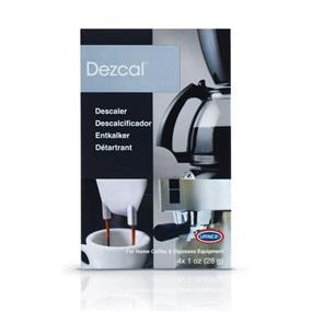 Saeco Dezcal Descaling Powder for Coffee Espresso Machine - 4 envelopes / box (DEZCAL)