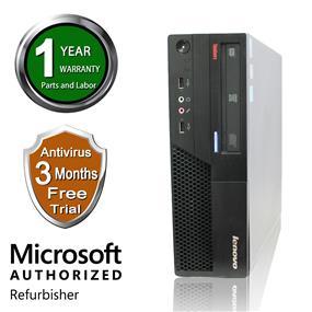 Lenovo MARS Refurbished SFF Desktop, MP58 Intel Core 2 Duo E7600 3.06Ghz E7600, 8G DDR2, 1TB HDD, Windows 7 Professional 64 Bit, 1 Year Warranty