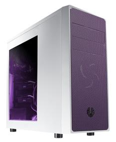 BitFenix Neos White/Purple Window Mid Tower Case (BFC-NEO-100-WWWKP-RP)