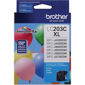 Brother LC203CS High Yield Cyan Ink Cartridge (LC203CS)