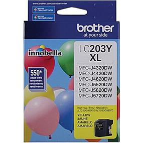 Brother LC203YS High Yield Yellow Ink Cartridge (LC203YS)