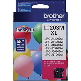 Brother LC203MS High Yield Magenta Ink Cartridge (LC203MS)