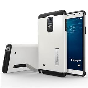 Spigen Slim Armor Case for Samsung Galaxy Note 4 Case - Shimmery White (SGP11128)