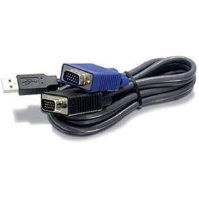TRENDnet 6ft USB/VGA KVM cable - 1.83m (TK-CU06)